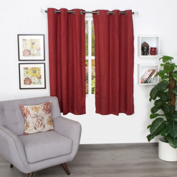 Aspen Jacquard Window Curtain - Set of 2 - 160 X 110 CM