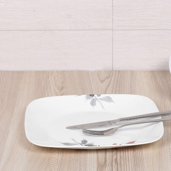 CORELLE Kyoto Leaves Square Dinner Plate