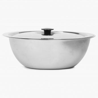 Weston Stainless Steel Bowl With Lid