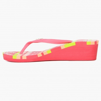GINGER Heeled Flip-Flops