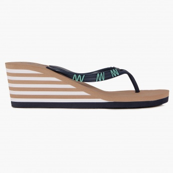 GINGER Stripe Raise Flip Flops