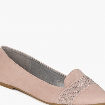 GINGER Lush Pastel Slip Ons Shoes
