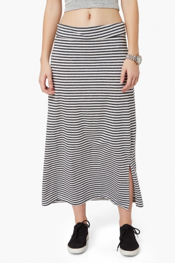 BOSSINI Striped Maxi Skirt