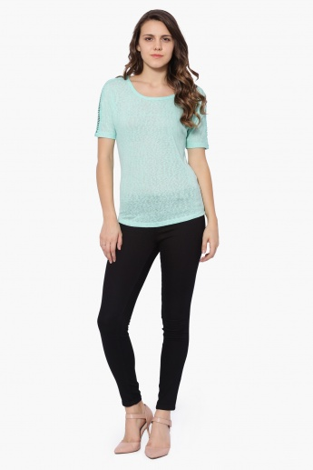 BOSSINI Textured Top
