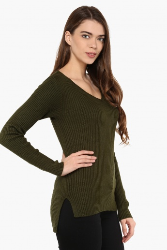BOSSINI High Low Sweater