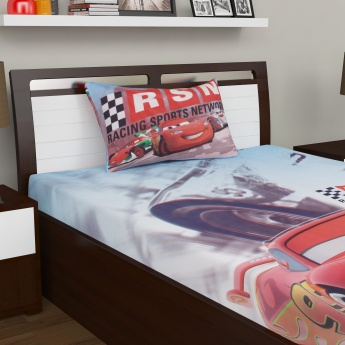 Kids Cars Single Bedsheet Set