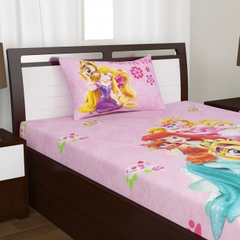 Kids Princess Single Bedsheet Set