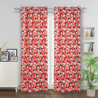 Kids Mickey Zone Single Door Curtain