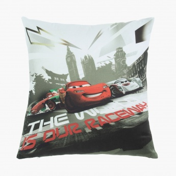 Disney Cars Digital Print Cushion Cover - Set Of 2 Pcs.