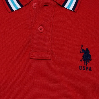 U.S. POLO ASSN KIDS Solid Polo T-Shirt
