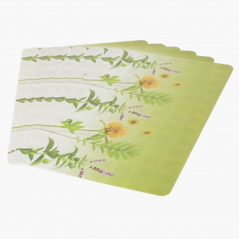 Dahlia Printed Place Mat- Set Of 6 - 43 X 28 CM