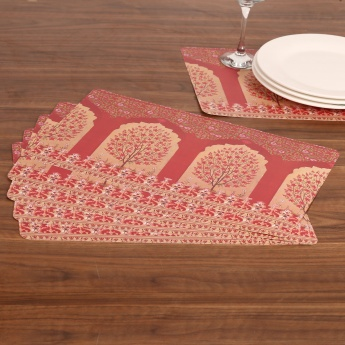 Atlantis Printed Place Mat- Set Of 6 - 44 X 29 CM