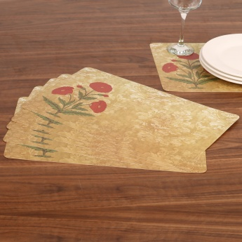 Atlantis Printed Place Mat-Set Of 6-43 x 28 CM