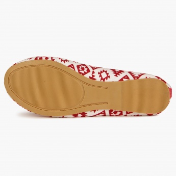 JUNIORS Ikkat Rush Slip Ons