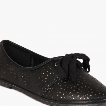 GINGER Metallic Inlay Shoes