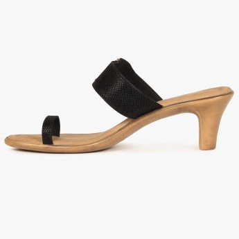 RAW HIDE Toe Ring Heels