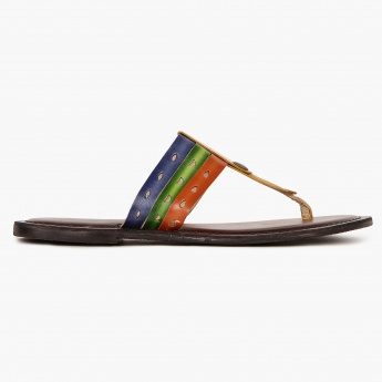 RAW HIDE Colours Of Life Flat Sandals
