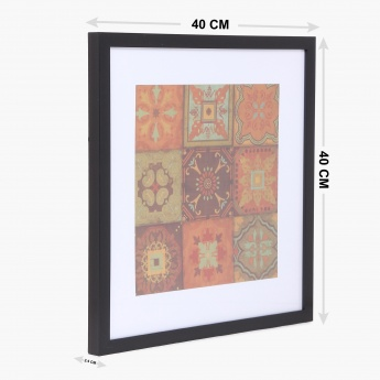 Abstract Picture Frame- 40 x 40 cm