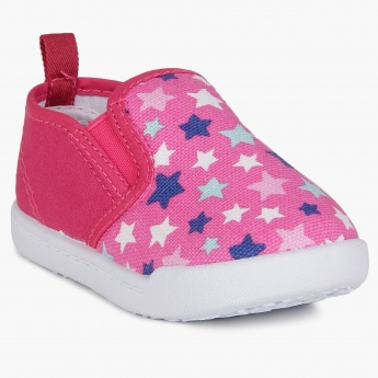 JUNIORS Starry Print Shoes
