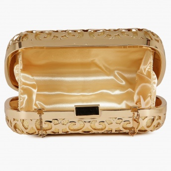 PAPRIKA Shimmery Evening Clutch