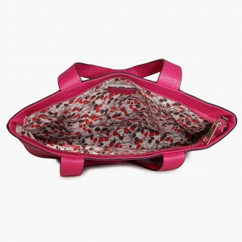 GINGER Leafy Interior Handbag