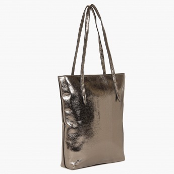 GINGER Metallic Muse Tote Handbag