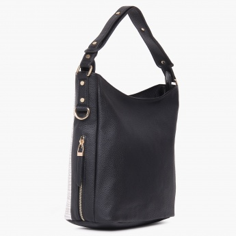 CODE Adjustable Strap Hobo Handbag