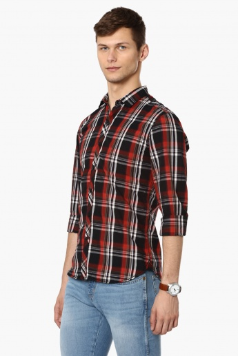 FORCA Casual Plaid Check Shirt