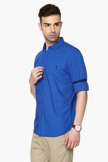 BOSSINI Full Sleeves Regular Fit Shirt