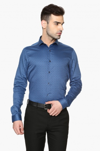 CODE Full Sleeves Slim Fit Shirt