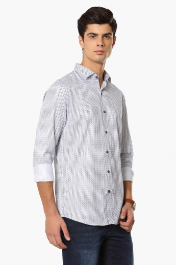 CODE Printed Casual Shirt