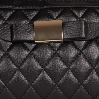 CODE Quilted Adjustable Strap Handbag