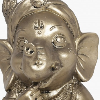 Galaxy Sitting Baby Ganesh With Sweet Figurine