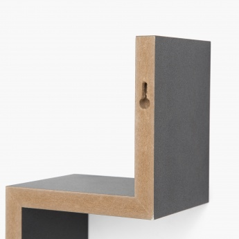 W Shaped Shelf