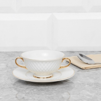 Divine Cup And Saucer