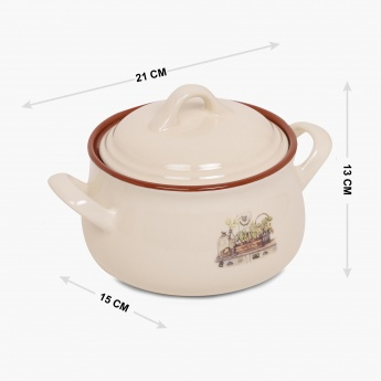 Jardin Ceramic Tureen- Large
