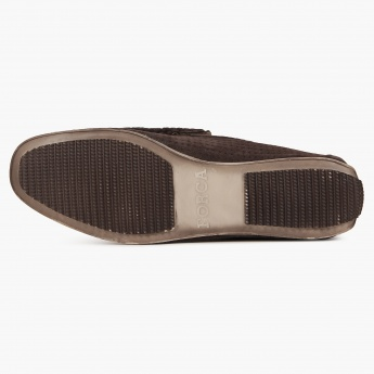 FORCA Perforated Casual Slip Ons