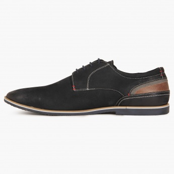 CODE Plain Toe Derby Shoes