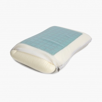 Slumber Oasis Memory Foam Gel Pillow-55 x 35 CM