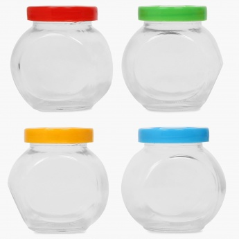 Daria Spice Jar- 200 ml: Set Of 4 Pcs.