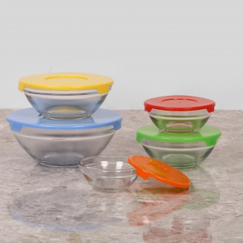 Daria Glass Container - Set Of 5