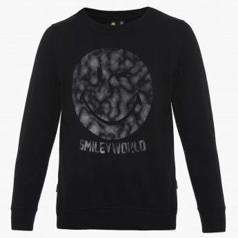 SMILEY Super Smiley Full Sleeves Pullover