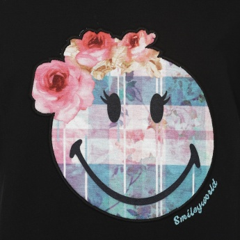 SMILEY Flowery SMILEY Pullover