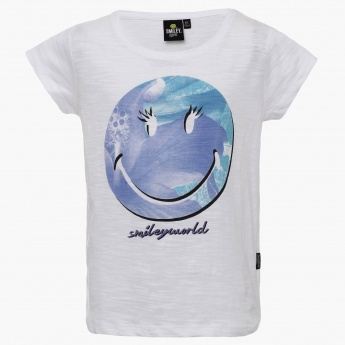 SMILEY Frozen Smiley T-Shirt