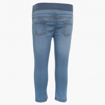 JUNIORS Elasticated Waist Jeans