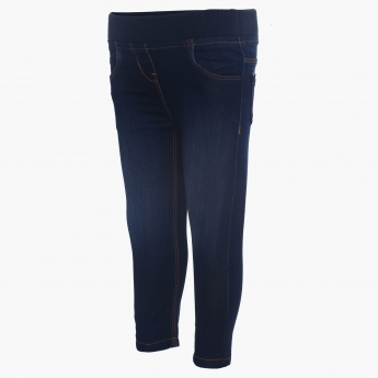 JUNIORS Elasticated Waistband Jeggings