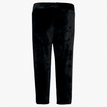 JUNIORS Velvety Trackpants