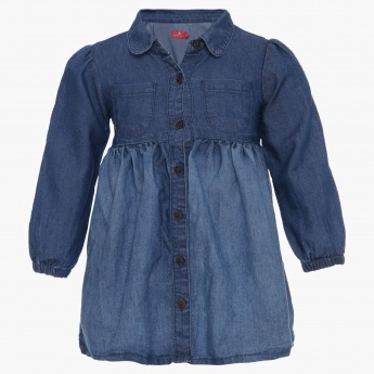 JUNIORS Denim Dress