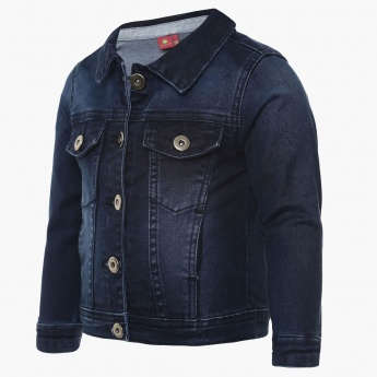 JUNIORS Denim Full Sleeves Jacket