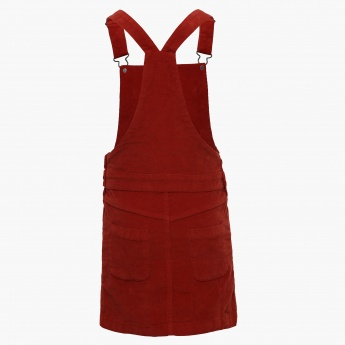 FAME FOREVER Woody Tan Pinafore